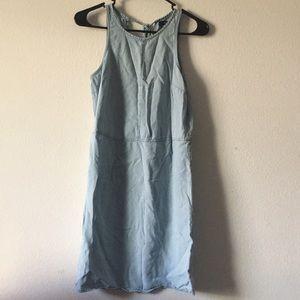 Gap chambray sun dress